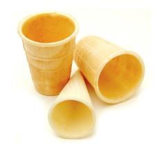 To wholesale wafer cups, wafer cups. Wafer cups
