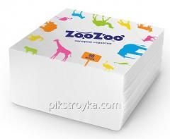 Салфетка столовая ZooZoo 24*23 60шт белые 1/54