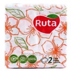 Serwetka na serwetki Ruta 24 * 24 40szt. Podwójne Luxe Flora 1/30