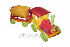 Toy train-constructor 1 trailer red Doloni DT 1/1