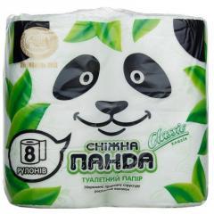 Туалетная бумага Снежная панда 8шт Classic...