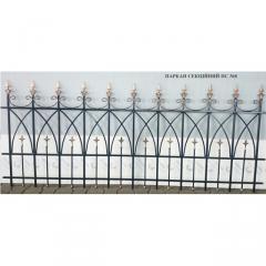 Забор кованый из отдельных секций