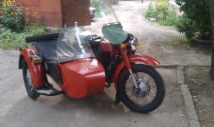 Мотоцикл МТ-10 с доками.