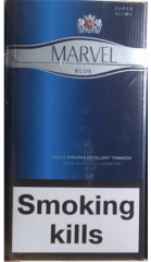 Slims cigarettes Marvel 4