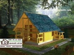 用木材做的房子
