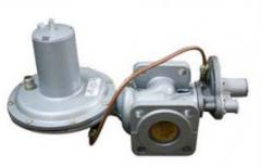 The gas pressure regulators combined by RDNK-400,
