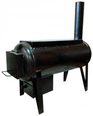 The furnace potbelly stove with a cooking surface