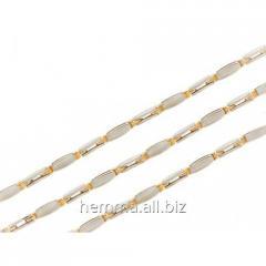 Золотая цепь Барака из двухцветного золота