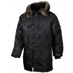Куртка Polar Jacket N3B черная брак XXL