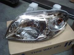 Chevrolet Aveo T250 Фара головного света