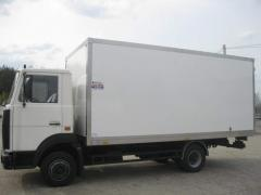 Isothermal motor van of production of ChPF