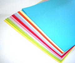 Coloured paper