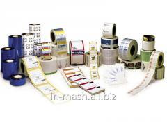 Label, thermofilm, ribbon