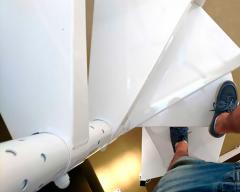 Винтовая лестница для мезонина SVELT T15 белая