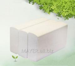 Towel paper sheet V-addition