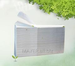 Towel paper sheet Z-addition