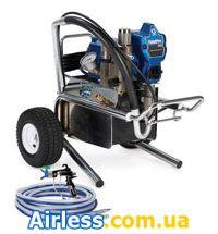 Агрегат для быстрой/финишной покраски, 2 технологии в 1 аппарате (airless/HVLP) FinishPro 290