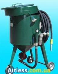 Пескоструйное оборудование - агрегаты пескоструйные