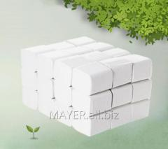 Бумага туалетная листовая Z-сложение