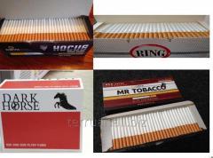Сигаретные гильзы, cигаретні гільзи HOCUS,