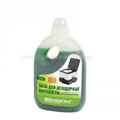 Жидкость для биотуалета Кемпинг 0,8 л (верх)
