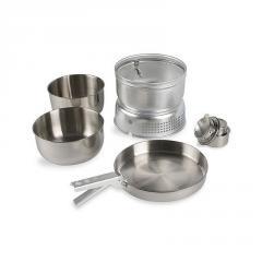 Набор посуды Tatonka 4010 Multi Set + A.Burner + спиртовая горелка