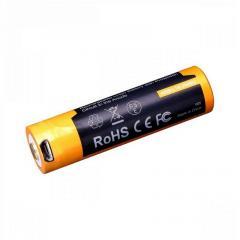 Аккумулятор 18650 Fenix micro usb ARB-L18  2600 mAh