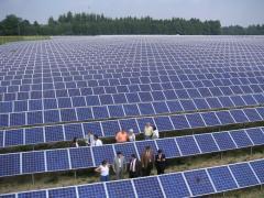 Сетевые солнечные электростанции под