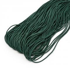 Резинка  2, 5 мм круг РК 2, 5 (зеленый)