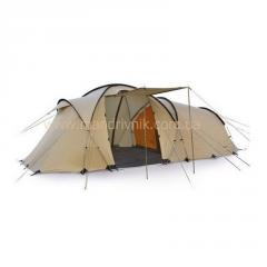 Палатка Pinguin Omega 6 (4+2) (brown)