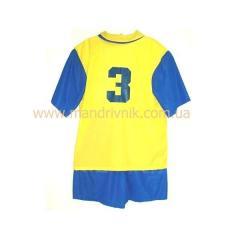 Форма футбольная М3 с номером (M)