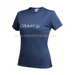 Craft Active Run 192482 t-shirt zhfkr Logo Tee W (1390 navy, L)