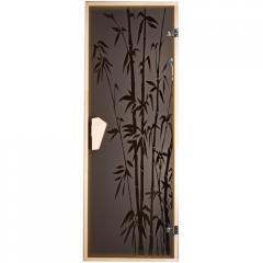 Дверь для сауны «Бамбуковый лес» 1900*700
