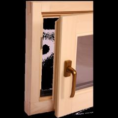 Окна для сауны поворотное