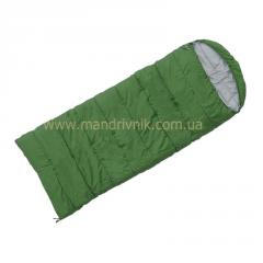 Sleeping bag of Terra Asleep Wide 400 (green, L)