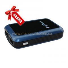 Зарядное устройство  Power Bank FPB-8400+фонарик (серый)