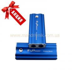 Зарядное устройство  Power Bank FPB-5600 + фонарик (синий)