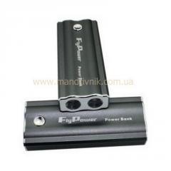 Зарядное устройство  Power Bank FPB-5600 + фонарик (серый)
