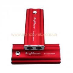 Зарядное устройство  Power Bank FPB-5600 + фонарик (красный)