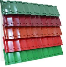 Films protective self-adhesive for a metal tile in