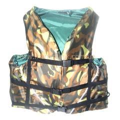 Жилет д/плавания  камуфляж (XL)