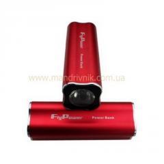Зарядное устройство  Power Bank FPB-10000+фонарик (красный)