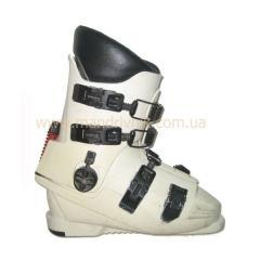 Ботинки горно-лыжные б/у 4 клипсы (желтый,