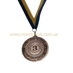 Медаль 40 мм 2040 (3 место)