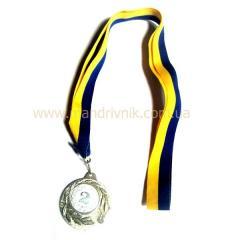 Медаль 45 мм 2050 (2 место)
