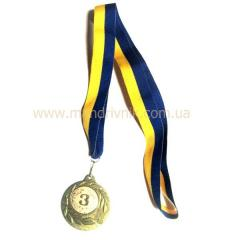 Медаль 45 мм 2050 (3 место)