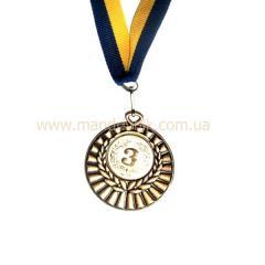Медаль 50 мм МД 28В (3 место)