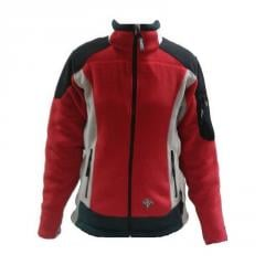 Jacket Milo Ghigo lady fleece (red, S)