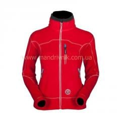 Jacket Milo Tocay lady fleece (red, M)
