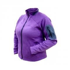 Jacket Trimm Britt Lady fleece (violet, L)